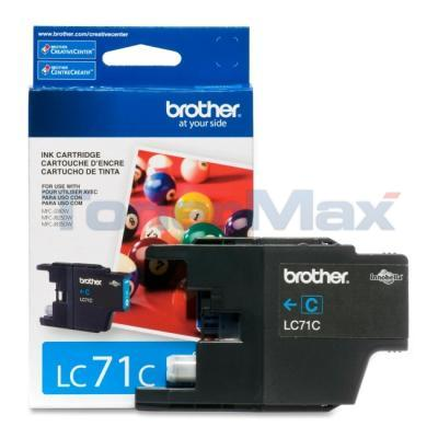 BROTHER MFC-J280W INK CARTRIDGE CYAN